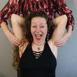 Natasza loves tickling Lysa armpits