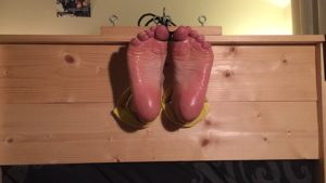 Stocked, Lotioned and Scrunching Soles