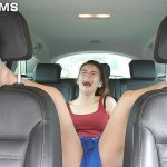 Lisabeth's ruthless tickle experience in the car : Full session