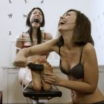 Maya tickles Kate Anima's feet and upper body. Revenge