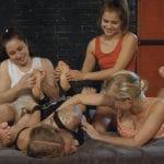 Fairy Fox in ticklish trap. Three for one fff/f tickling