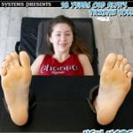 18 Years Old Alya's Ticklish Soles
