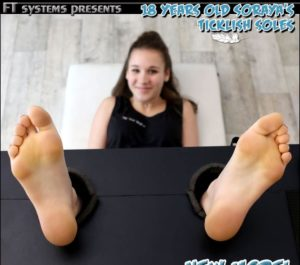 18 Years Old Soraya's Ticklish Soles