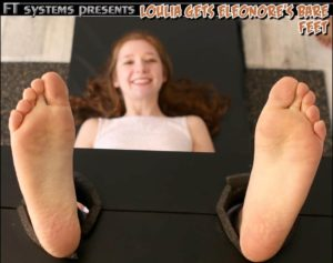 Loulia Gets Eleonore's Helpless Bare Feet