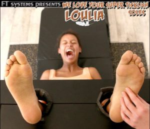 We Love Your Super Ticklish Soles Loulia