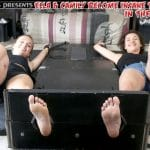 Ella & Camily Become Insane Together in the Stocks