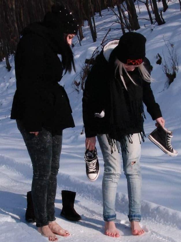 Freezing Foot fun