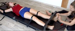 Alya Is Strongly Immobilized & Mercilessly Tickled