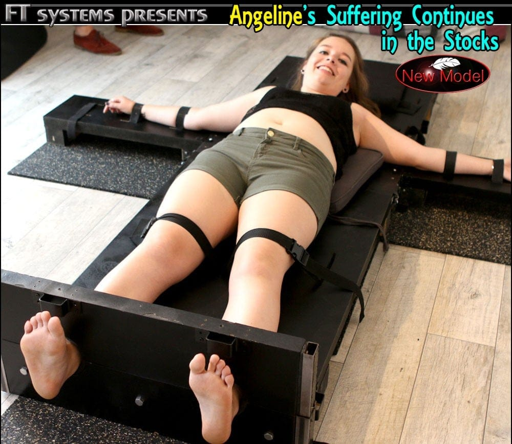 Angeline's Suffering Continues in the Stocks
