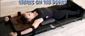 Ultra Ticklish Soraya Cracks on the Device