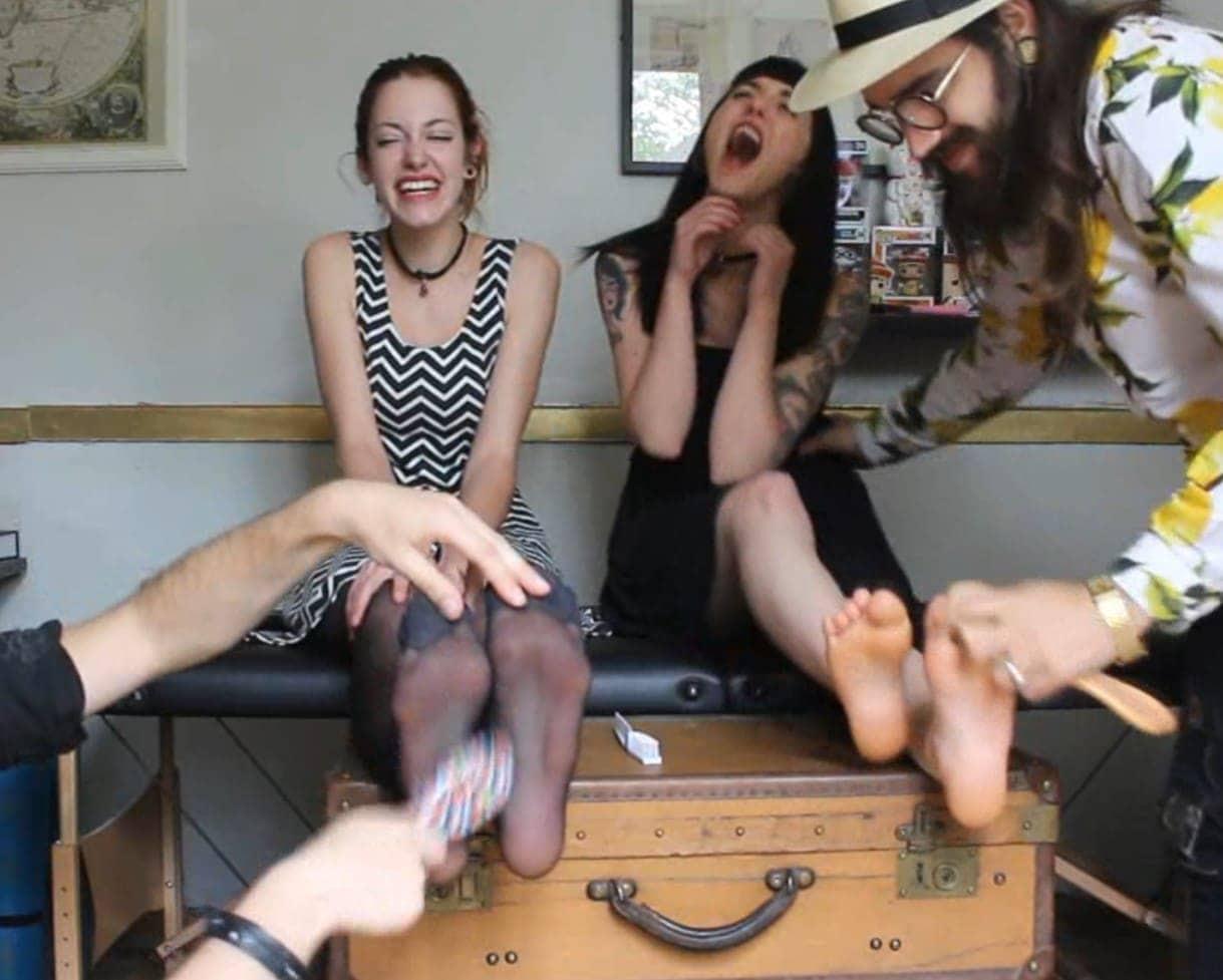 Anna Furiosa and Natasza a beautiful ticklish duo