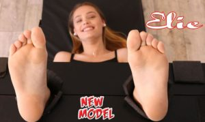 Foot Tickling Is a Real For the 18 Years Old Beauty