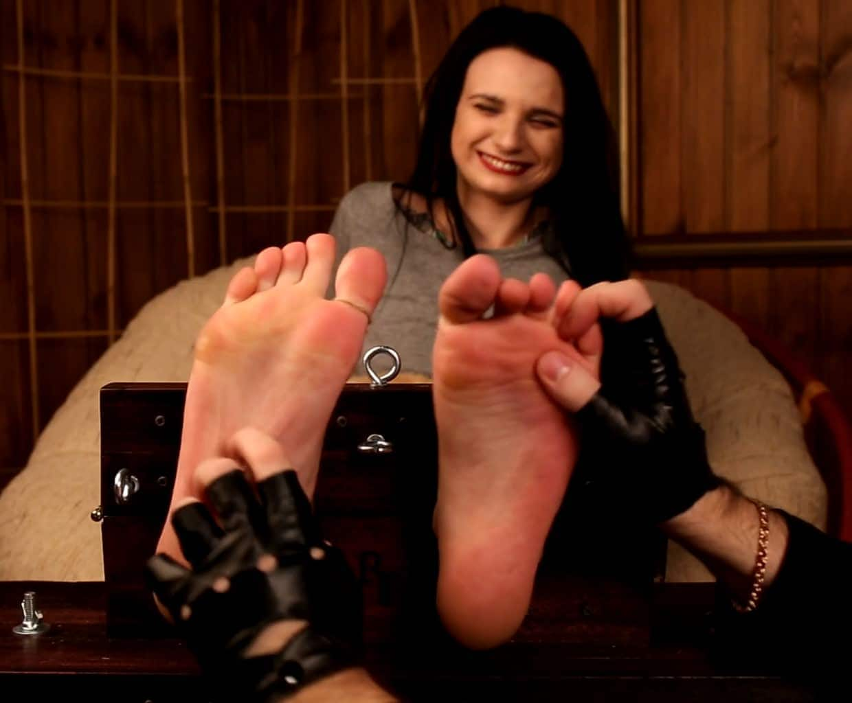 Excellent Tickling for Tattooed Girl