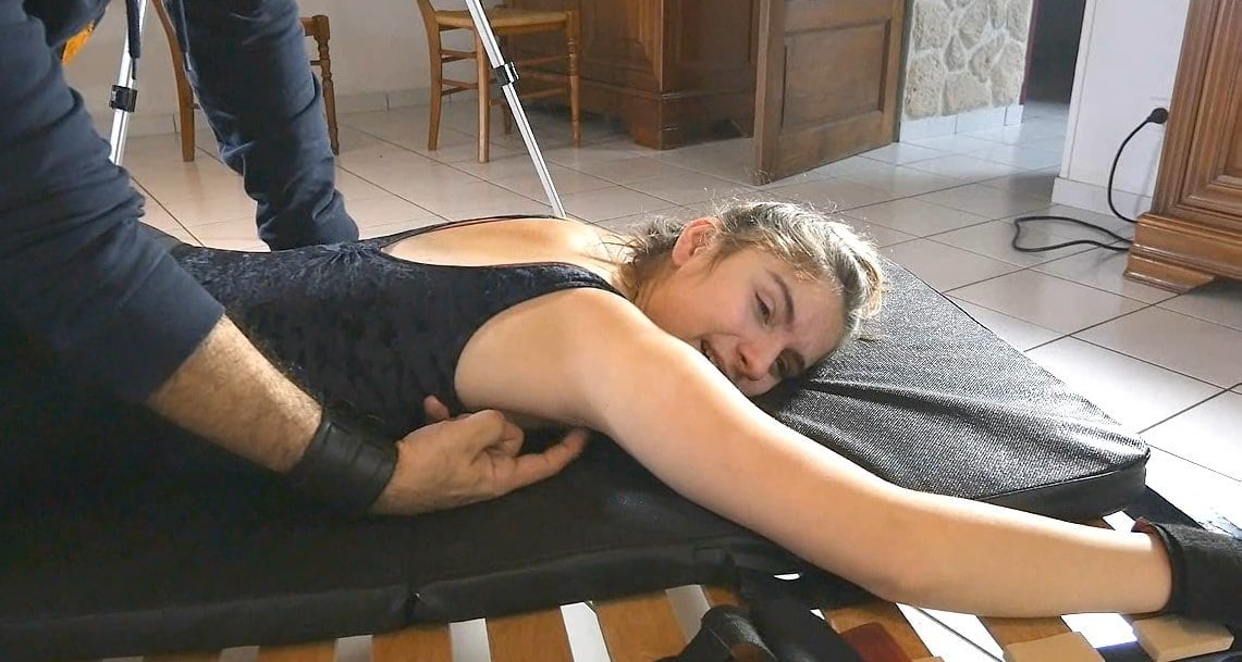 Fantasies Continue Face Down With the Ticklish Dancer