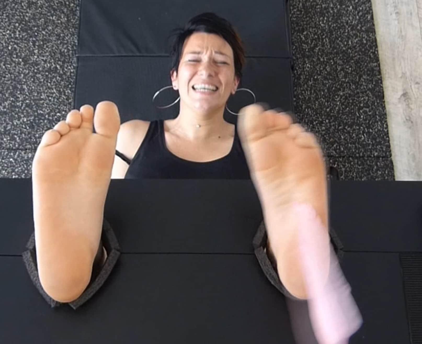The Beautiful Mina Has Horribly Ticklish Feet
